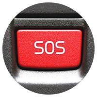 Кнопка SOS для строительной техники